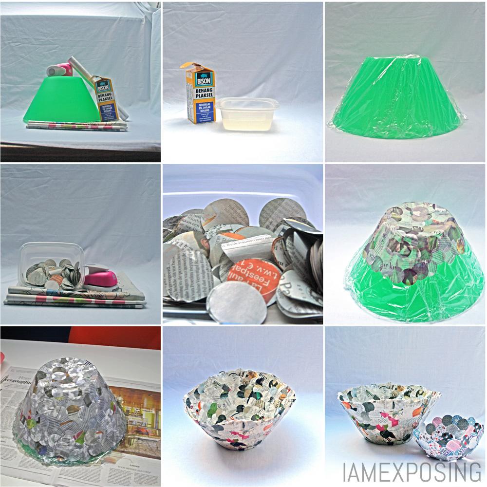 Diy bakje van papier iamexposing - Idee van decoratie voor kamer ...