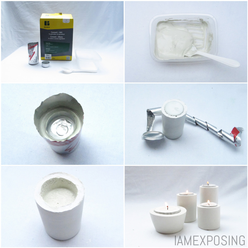 DIY: Creatief met cement : iamexposing