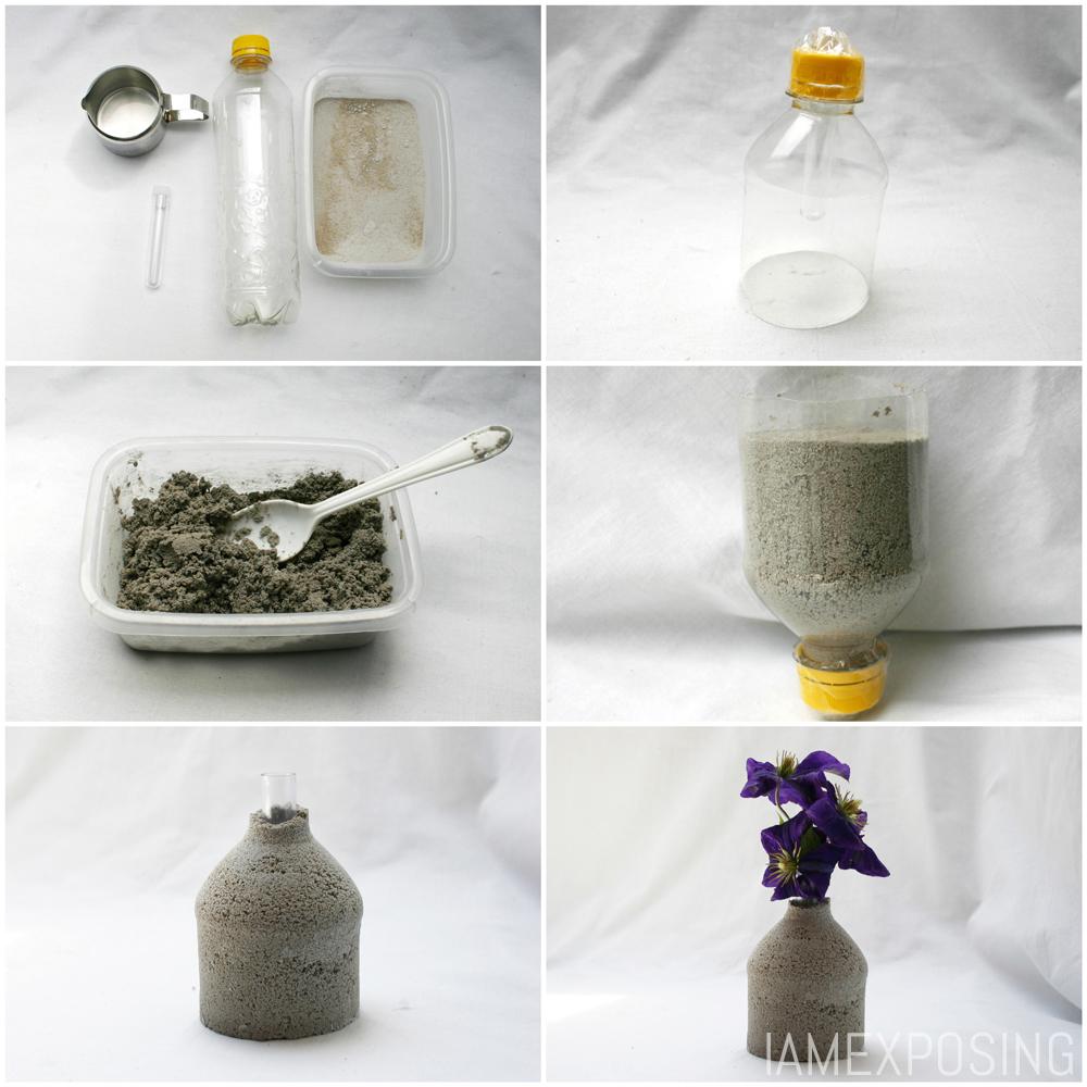 Diy betonnen vaasje iamexposing for Dingen voor moederdag